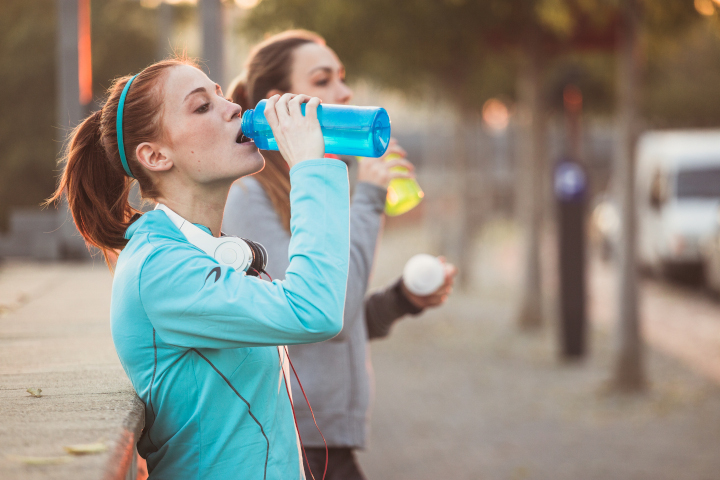 Hydration is key for running!