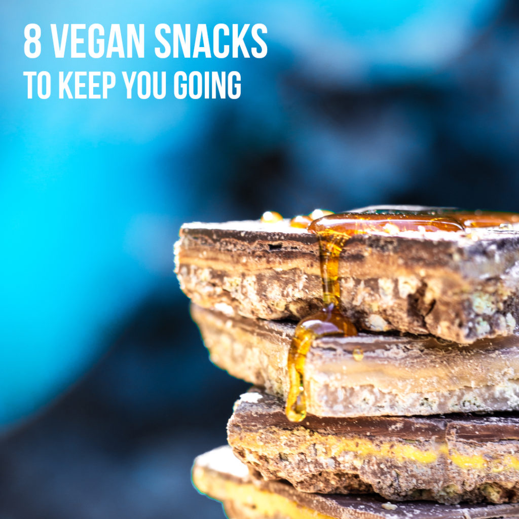 Vegan protein snacks