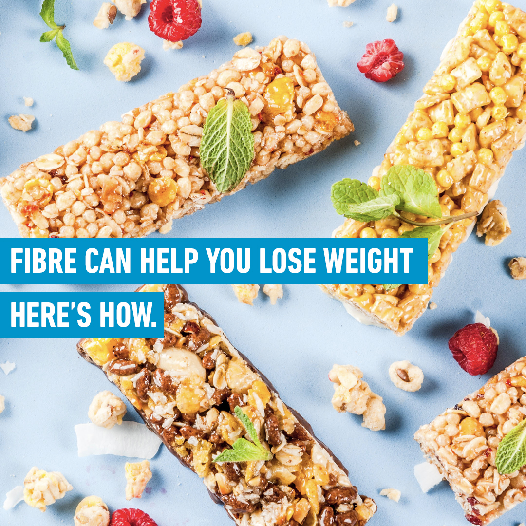 fibre can help you lose weight