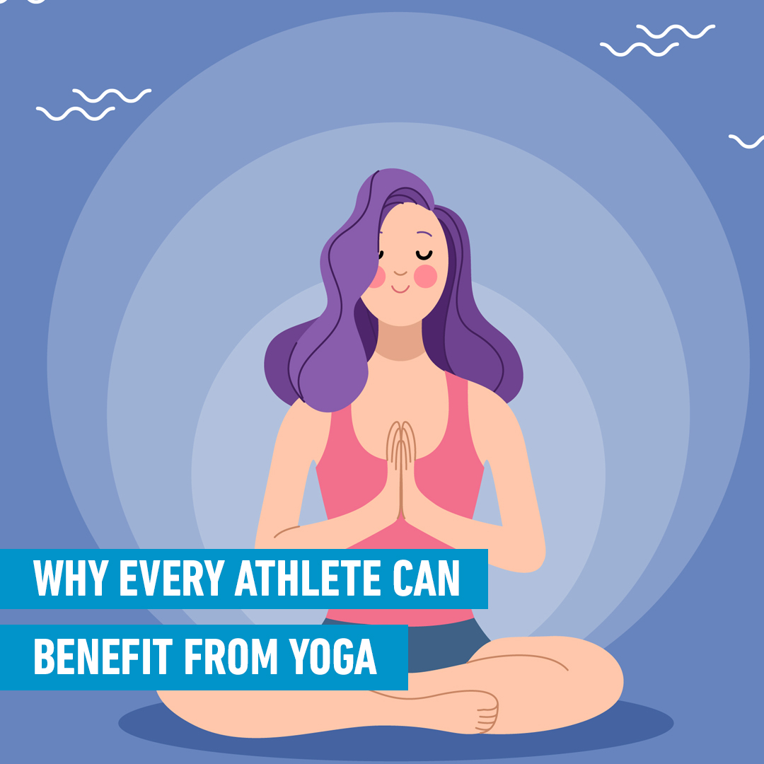 why every athlete should use yoga