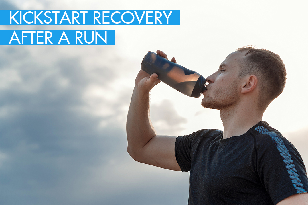 Kick start recovery after a run