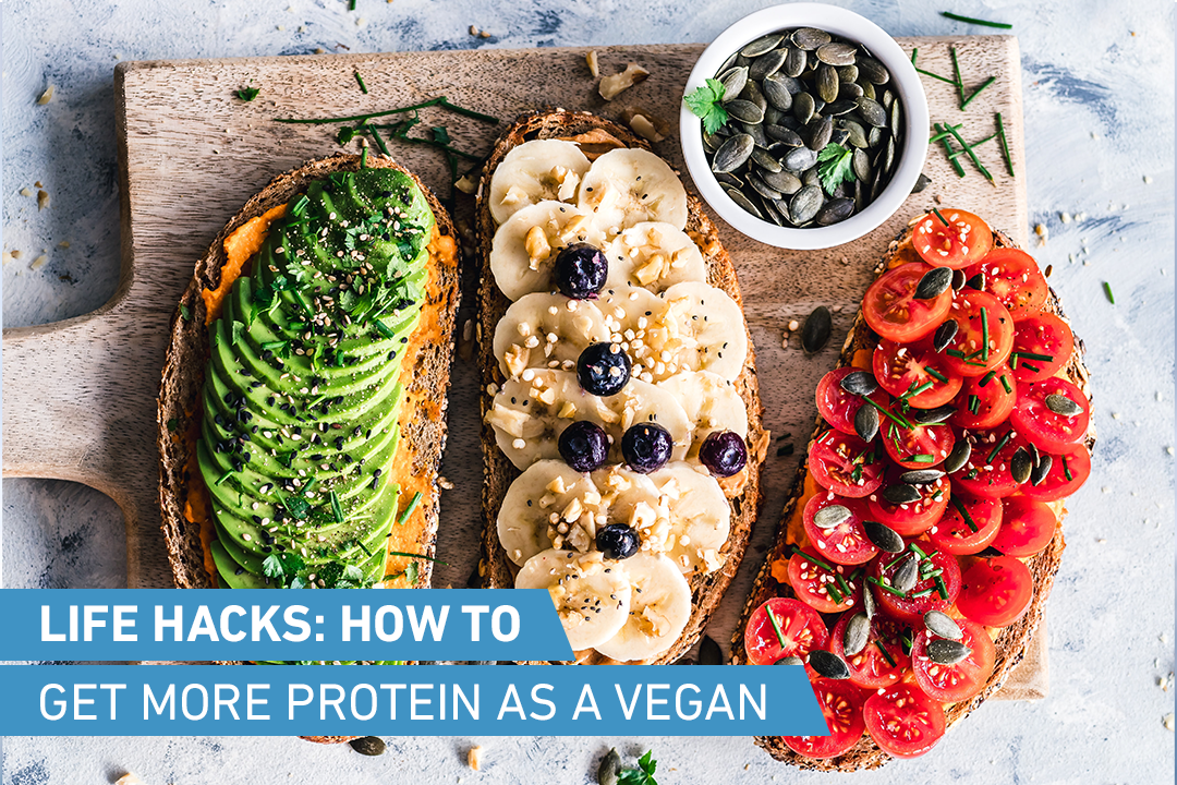 How to get more protein as a vegan